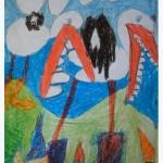 """Rokas Spirius 6 m. ,, Gandriukai su dantukais"""""""