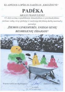 Žiemos linksmybės Miglė