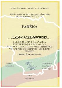 KURIU ŽODĮ LIETUVAI PADĖKA LAIMAI-1