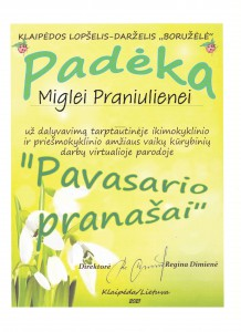 PADĖKA LT Miglei
